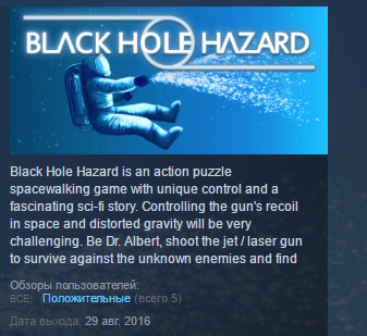 Black Hole Hazard ( Steam Key / Region Free ) GLOBAL