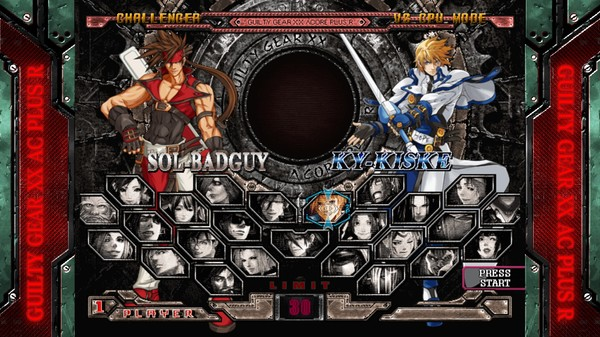 GUILTY GEAR XX ACCENT CORE PLUS R STEAM KEY GLOBAL
