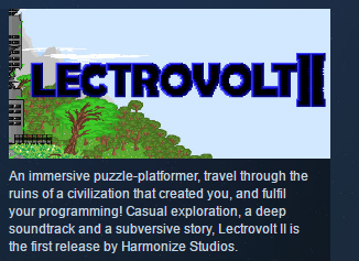 Lectrovolt II ( Steam Key / Region Free ) GLOBAL ROW