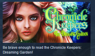 Chronicle Keepers: The Dreaming Garden STEAM KEY GLOBAL