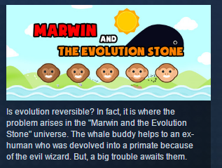 Marwin and The Evolution Stone STEAM KEY REGION FREE