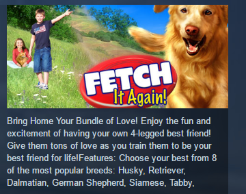 Fetch It Again ( Steam Key / Region Free ) GLOBAL ROW
