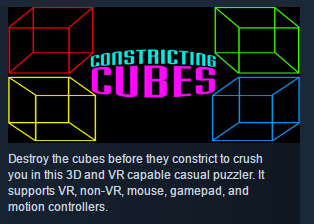 Constricting Cubes ( Steam Key / Region Free ) GLOBAL