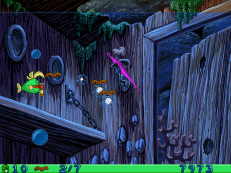 Freddi Fish and Luthers Water Worries STEAM GLOBAL ROW