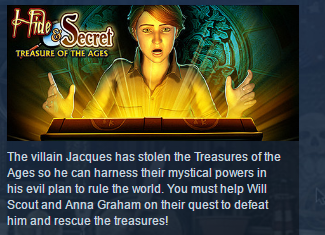 Hide and Secret Treasure of the Ages STEAM GLOBAL ROW