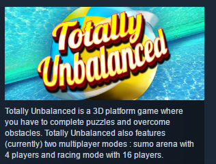 Totally Unbalanced ( Steam Key / Region Free ) GLOBAL