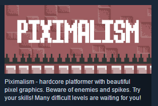 Piximalism STEAM KEY REGION FREE GLOBAL