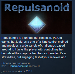Repulsanoid ( Steam Key / Region Free ) GLOBAL ROW