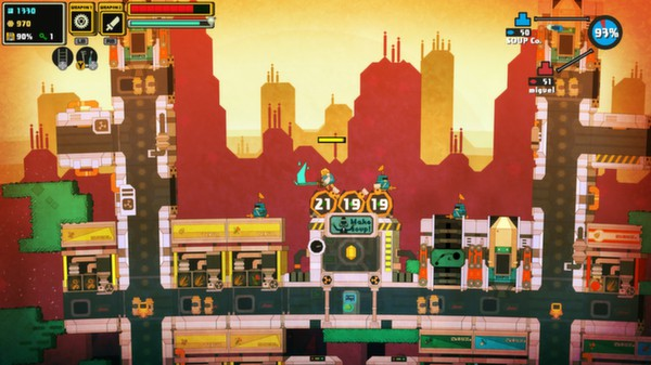 PixelJunk Nom Nom Galaxy ( Steam Key / Region Free )