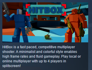 HitBox ( Steam Key / Region Free ) GLOBAL ROW