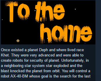 To the home ( Steam Key / Region Free ) GLOBAL ROW