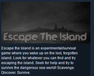 Escape The Island ( Steam Key / Region Free ) GLOBAL