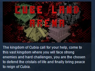 Cube Land Arena ( Steam Key / Region Free ) GLOBAL ROW