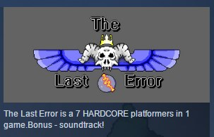 The Last Error ( Steam Key / Region Free ) GLOBAL ROW