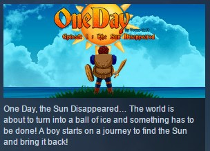 One Day : The Sun Disappeared STEAM KEY EGION FREE
