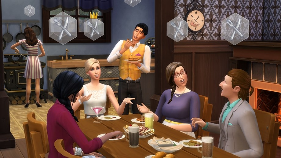 THE SIMS 4: Веселимся вместе Get Together KEY GLOBAL