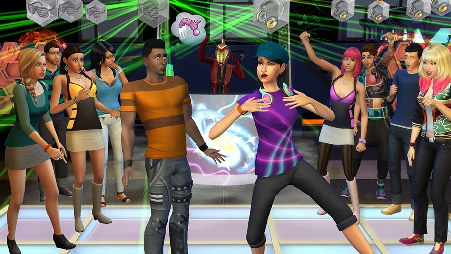 THE SIMS 4:Веселимся вместе Get Together DLC GLOBAL
