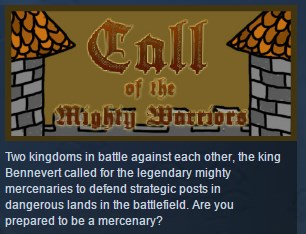 Call Of The Mighty Warriors ( Steam Key / Region Free )