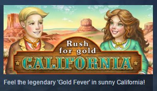 Rush for gold: California ( Steam Key / Region Free )
