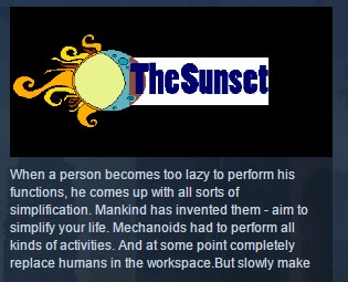 The Sunset ( Steam Key / Region Free ) GLOBAL ROW