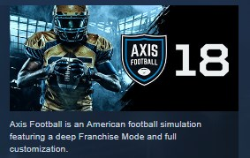 Axis Football 2018  STEAM KEY REGION FREE GLOBAL