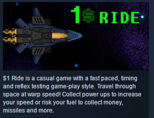1 Ride ( Steam Key / Region Free ) GLOBAL