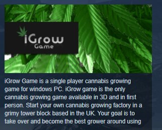 iGrow Game ( Steam Key / Region Free ) GLOBAL ROW