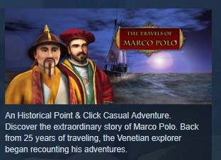 The Travels of Marco Polo STEAM KEY REGION FREE GLOBAL