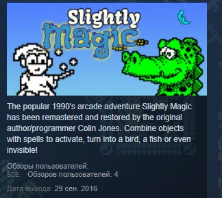 Slightly Magic - 8bit Legacy Edition STEAM KEY GLOBAL