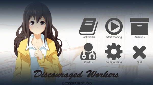 Discouraged Workers TEEN STEAM KEY REGION FREE GLOBAL