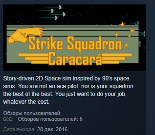 Strike Squadron: Caracara STEAM KEY REGION FREE GLOBAL