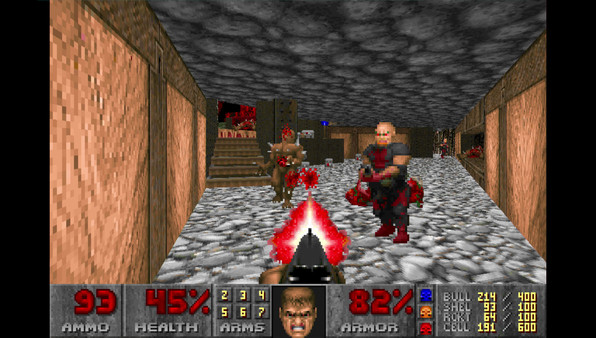 Ultimate Doom STEAM KEY RU+CIS LICENSE 💎