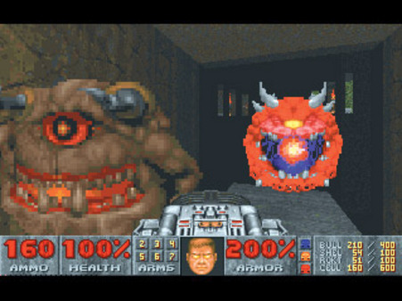 DOOM II 2 STEAM KEY RU+CIS LICENSE 💎