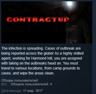 CONTRACTED ( Steam Key / Region Free ) GLOBAL
