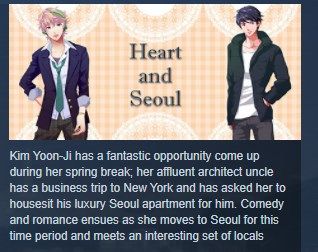 Heart and Seoul ( Steam Key / Region Free ) GLOBAL