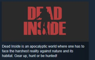 Dead Inside ( Steam Key / Region Free ) GLOBAL