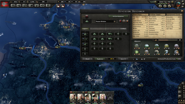 Hearts of Iron IV: Cadet Edition STEAM KEY LICENSE 💎