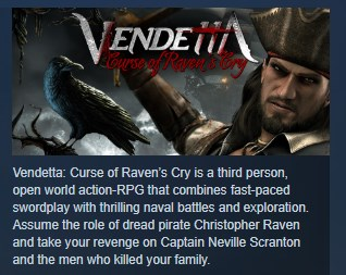 Фотография vendetta curse of raven
