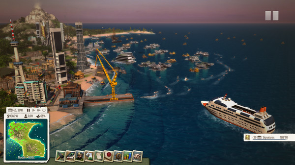 Tropico 5 - Waterborne STEAM KEY REGION FREE GLOBAL 💎