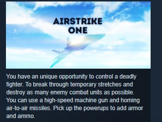 Airstrike One STEAM KEY REGION FREE GLOBAL