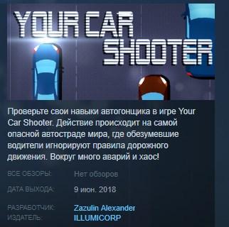 Фотография your car shooter steam key region free global