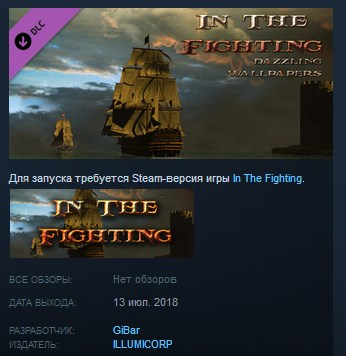 In The Fighting Dazzling Wallpapers STEAM KEY GLOBAL