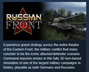 Russian Front STEAM KEY REGION FREE GLOBAL