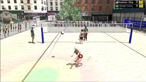 Volleyball Unbound Pro Beach Volleyball STEAM KEY GLOB 2019