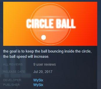 Circle Ball STEAM KEY REGION FREE GLOBAL 2019