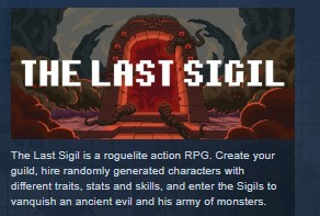 The Last Sigil STEAM KEY REGION FREE GLOBAL 2019