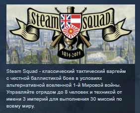 Steam Squad STEAM KEY REGION FREE GLOBAL 💎 2019