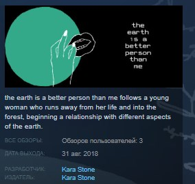 the earth is a better person than me STEAM KEY GLOBAL 2019