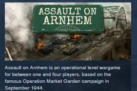 Assault on Arnhem STEAM KEY REGION FREE GLOBAL 2019