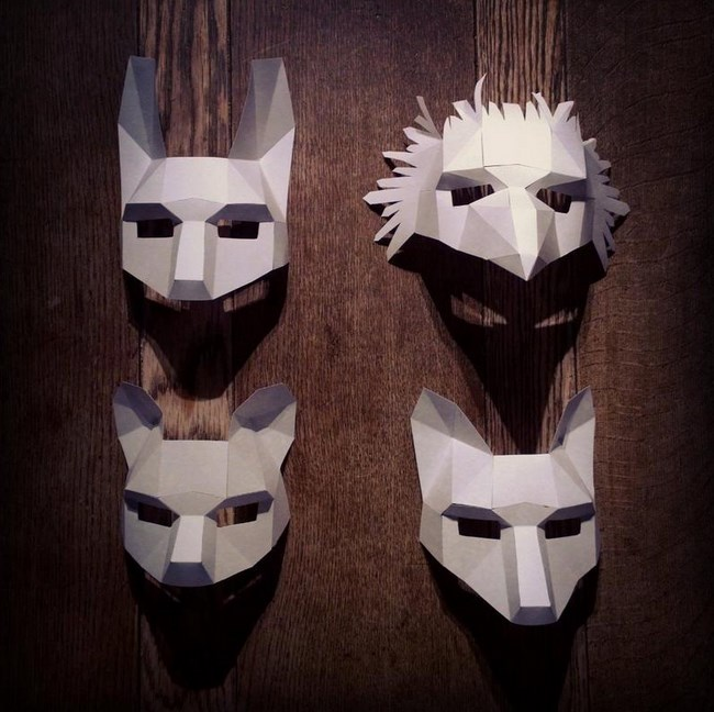Wintercroft masks 50 pieces Origami Patterns 💎
